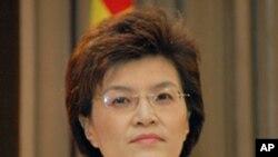 중국 외교부의 장위 대변인