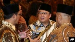 Menteri KeuanganBambang Brodjonegoro (tengah). (Foto: Dok)