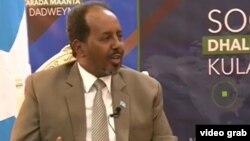 Perezida Hassan Sheikh Mohamud wa Somaliya
