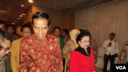 印尼总统佐科·维多多参加执政党全国大会(2015年2月13日)