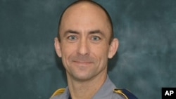 FILE - Baton Rouge police officer Matthew Gerald, 41.