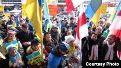 Громадська акція у Канаді на підтримку України