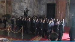 韩国呼吁朝鲜政权过渡保持稳定