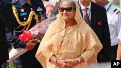ဘဂၤလားေဒ့ရွ္ ၀န္ႀကီးခ်ဳပ္ Sheikh Hasina (ေအာက္တိုဘာ၊ ၀၃၊ ၂၀၁၉)