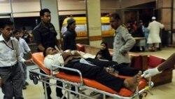 مجروحان بمب گذاری در بیمارستانی در کراچی - ۱۷ اکتبر ۲۰۱۰
