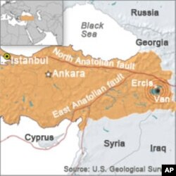 Death Toll Rises in Turkey Quake