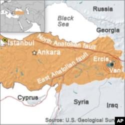 Death Toll Rises in Turkey Quake