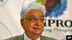 Aziz Premji, orang India pertama yang ikut dalam Janji Berderma, yang dimulai oleh miliuner Amerika Bill Gates dan Warren Buffet (Foto: dok).
