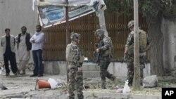 Mesto napada u Kabulu