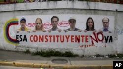 hotan shugabannin 'yan adawar Venezuela.