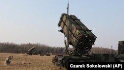Tên lửa Patriot Mỹ trong một cuộc tập trận chung ở Ba Lan (ảnh tư liệu, 3/2015)