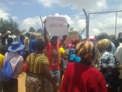 Report on Food Aid Protests Filed By Loidham Moyo