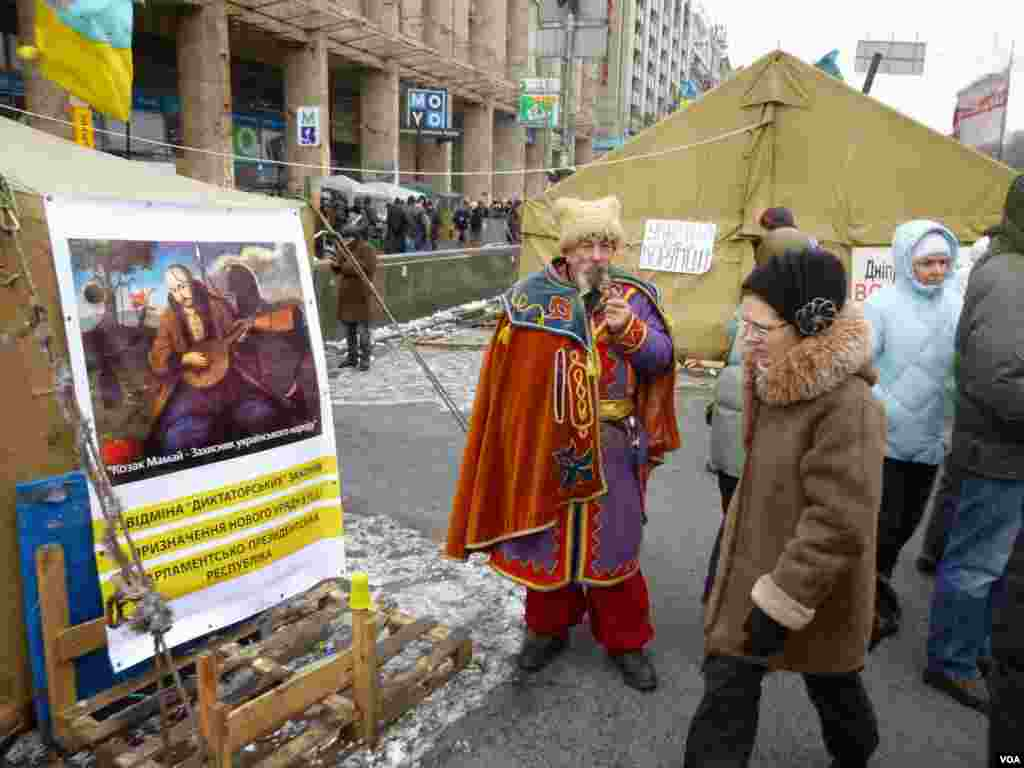 Azadlıq Meydanı - Kiyev, 28 yanvar, 2014