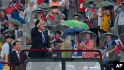 台灣總統馬英九7月4日在主持漢光演習期間表示,是中華民國主導了抗日戰爭。