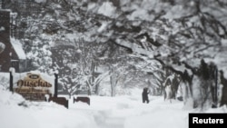 Tuyết rơi kỷ lục ở Erie, bang Pennsylvania, ngày 27/12/2017.