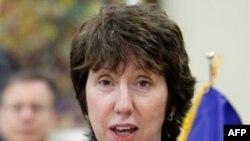 Trưởng ban Chính sách Ðối ngoại của EU Catherine Ashton nói rằng trách nhiệm điều tra các cơ sở hạt nhân là của IAEA