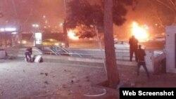 Ankarada partlayış