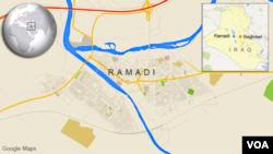 Ramadi, en Irak (VOA)