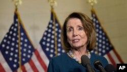 Liderka demokratske manjine u Predstavničkom domu Nensi Pelosi