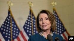 La líder demócrata Nancy Pelosi pidió se investigue.