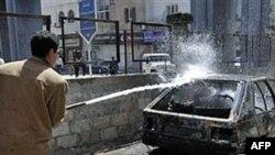 სირიაში საპროტესტო აქციის 4 მონაწილე მოჰკლეს