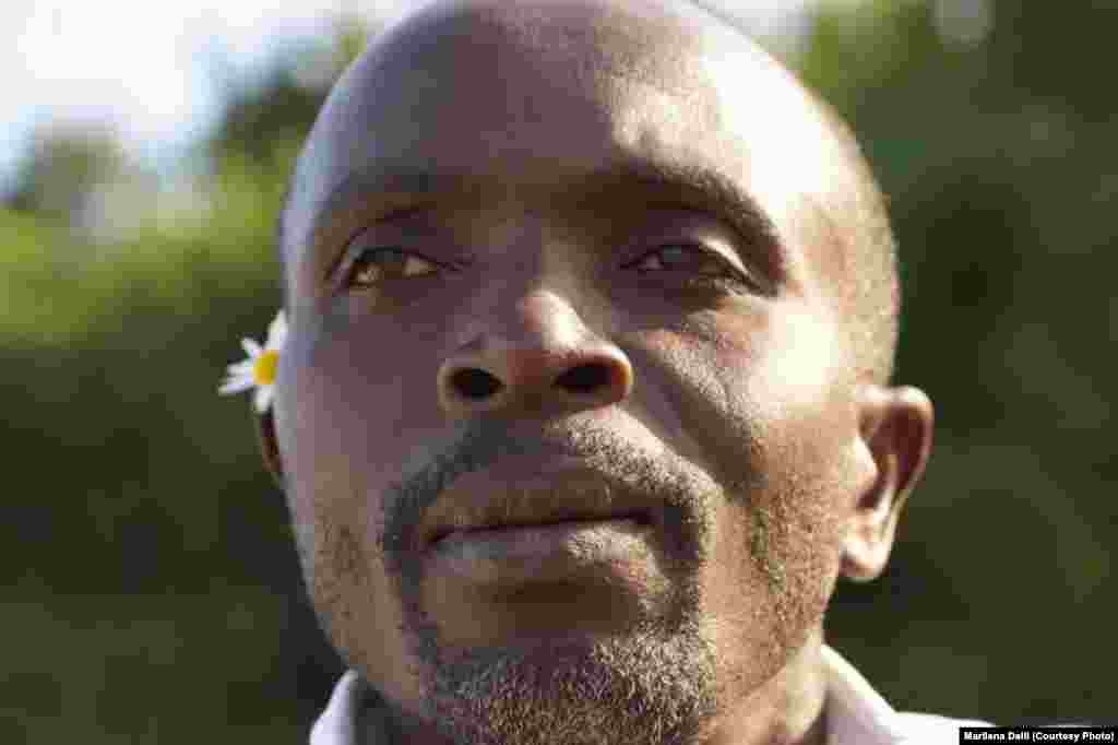 Adrien Kazigira, lead singer of the Rwandan band The Good Ones, survived the genocide but keeps the victims' experiences alive through his songs.