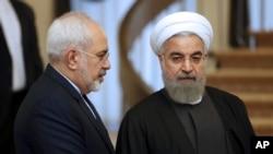 El presidente Hasán Ruhani elogió en un discurso a Mohammad Javad Zarif luego de que la repentina dimisión del canciller sorprendiese a la República Islámica el lunes 25 de febrero de 2019.