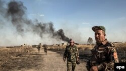 epaselect IRAQ UNREST PESHMERGA FIGHTERS