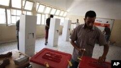 지난달 리비아에서 실시된 제헌의회 구성을 위한 선거. (자료사진)