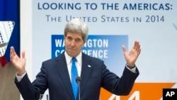 A principios de mes el secretario de Estado, John Kerry, dijo que EE.UU. nunca dejará de defender los derechos humanos.