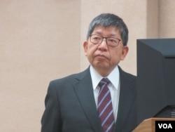 台灣陸委會副主委林正義(美國之音張永泰拍攝)