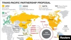 បទសម្ភាសន៍ VOA៖ ប្រទេស១២នៅក្នុងតំបន់ប៉ាស៊ីហ្វិក ចុះហត្ថលេខាលើកិច្ចព្រមព្រៀងពាណិជ្ជកម្មដៃគូឆ្លងមហាសមុទ្រប៉ាស៊ីហ្វិក TPP