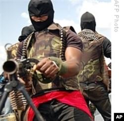 Gunmen from Nigeria's volatile Niger Delta