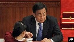 前重慶市委書記的薄熙來2012年3月3號在北京出席中國政協會議開幕式