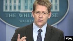 Juru bicara pemerintahan Obama, Jay Carney
