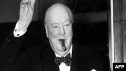 Cựu Thủ tướng Anh Winston Churchill.