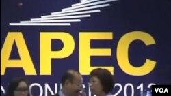 正在印度尼西亞的巴厘島舉行的亞太經合組織峰會,美國總統奧巴馬缺席