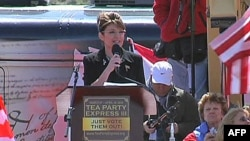 Bivša guvernrka Aljaske, Sara Pejlin obratila se aktivistima Pokreta čajanka