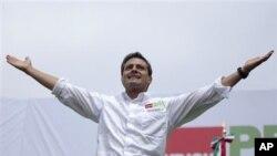 墨西哥革命制度黨候選人涅托在總統大選獲勝