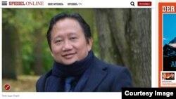 Bài báo trên tạp chí Der Spiegel (Tấm Gương) về việc công an Đức điều tra một người của Văn phòng Liên bang Di trú và Tị nạn trong lúc công tố liên bang điều tra vụ bắt cóc Trịnh Xuân Thanh.