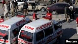 در این انفجار دهها نفر نیز زخمی شدند.