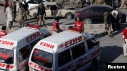 Đánh bom liều chết tấn công vào đoàn xe ở thị trấn Mastung, tỉnh Baluchistan, Pakistan, ngày 12/5/2017.