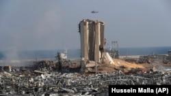 Hoton yadda fashewar Beirut ta hallaka birnin