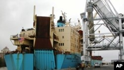 Luanda vai pedir contas ao armador do navio americano