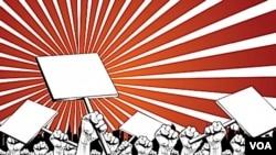 """""""Todo mundo tiene derecho a marchar. Nosotros tenemos derecho a marchar"""", dijo Gustavo Porras, diputado del FSLN."""