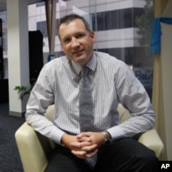 The CEO of ANZ Royal, Stephen Higgins, who says the newly-launched stock exchange will benefit Cambodia, but is for the long-term.