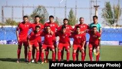 تیم ملی فوتبال افغانستان در برابر اردن