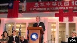 美國在台協會主席薄瑞光(美國之音鍾辰芳拍攝)