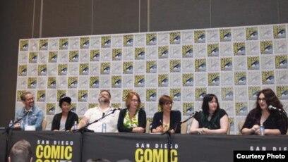 Alti Firmansyah (ke-2 dari kiri) di acara panel diskusi Comic Con International 2018 (Dok: Alti Firmansyah)