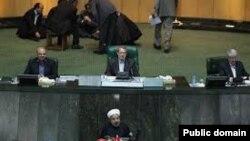سخنان روحانی در آخرین روز بررسی وزیران در مجلس